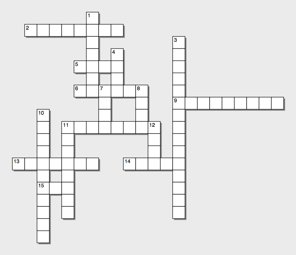 OL Crossword puzzle