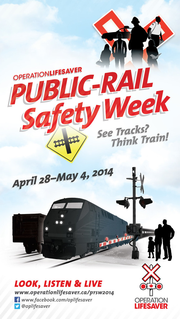 Public-Rail Safety Week 2014 Poster