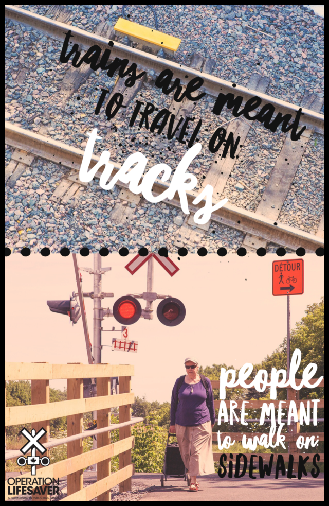 Tracks are for trains only