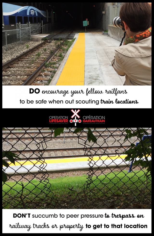 Dos and don'ts of railfanning