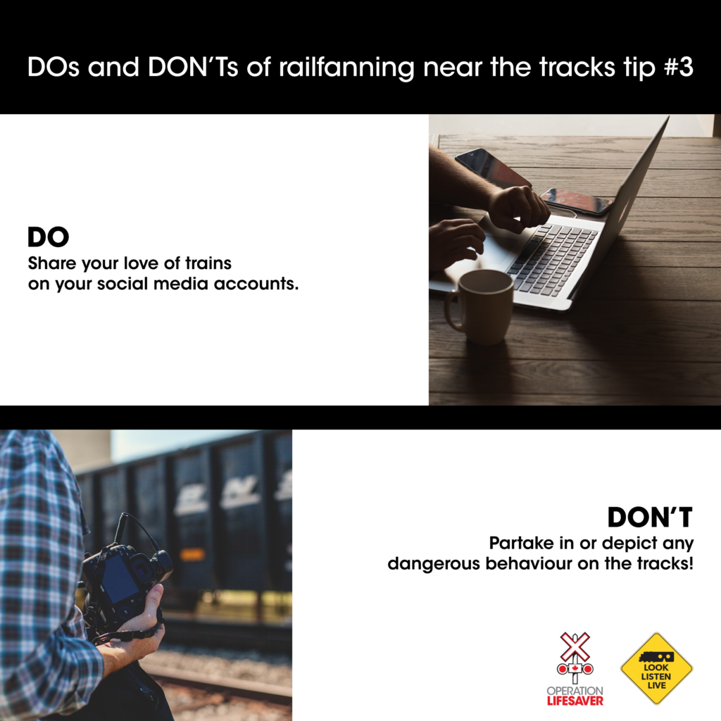 Railfanning safety